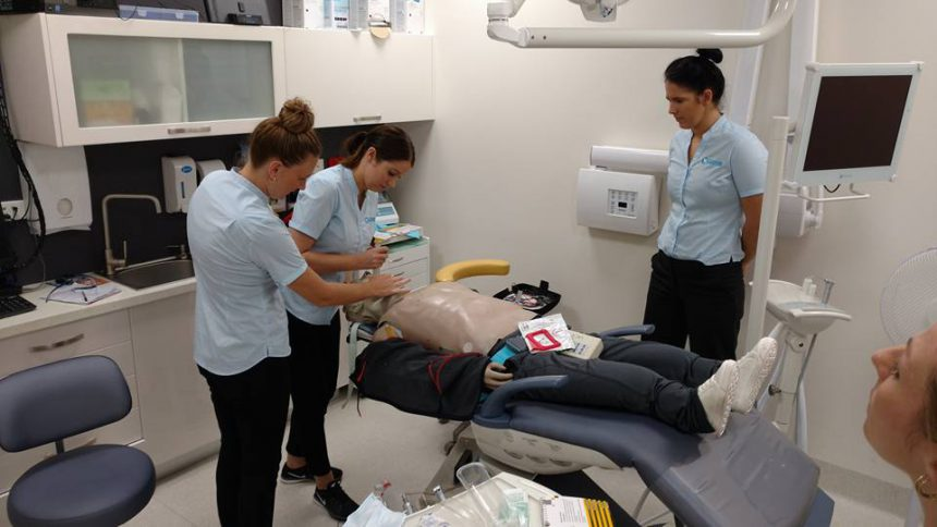 Medical Emergency Training at Compass Dental Care